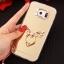 (025-1146)เคสมือถือซัมซุง Case Samsung Galaxy S7 เคสนิ่มพื้นหลังแววกึ่งกระจก เลนส์กล้องขอบเพชร พร้อมแหวนเพชรตั้งโทรศัพท์และสายคล้องคอถอดแยกสายได้ thumbnail 19