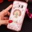 (025-1150)เคสมือถือซัมซุง Case Samsung S7 Edge เคสนิ่มซิลิโคนใสลายหรูประดับคริสตัล พร้อมแหวนเพชรมือถือตั้งโทรศัพท์ thumbnail 9