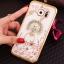 (025-1150)เคสมือถือซัมซุง Case Samsung S7 Edge เคสนิ่มซิลิโคนใสลายหรูประดับคริสตัล พร้อมแหวนเพชรมือถือตั้งโทรศัพท์ thumbnail 15