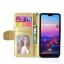 (436-462)เคสโทรศัพท์มือถือหัวเว่ย Case Huawei P20 Pro เคสนิ่มสไตล์สมุดเปิดข้างลายสมอเรือ thumbnail 3