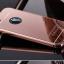 (025-1100)เคสมือถือไอโฟน case iphone 5/5s/SE เคสกรอบบัมเปอร์โลหะฝาหลังอะคริลิคแววกึ่งกระจก thumbnail 2