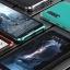 (724-001)เคสโทรศัพท์มือถือ Case Huawei P20 เคสโลหะแฟชั่นขอบสีเทห์ๆ thumbnail 1