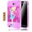 (589-003)เคสโทรศัพท์มือถือซัมซุง Samsung Galaxy Note1 เคสบัมเปอร์โลหะพื้นหลังสไตล์ลายการ์ตูน thumbnail 10