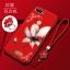 (026-018)เคสโทรศัพท์มือถือหัวเว่ย Case Huawei Y7Pro 2018 เคสนิ่มขอบเพชรลายดอกไม้ thumbnail 4
